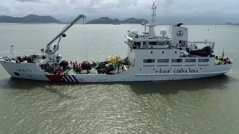 Largest beacon vessel with BeiDou system put into service