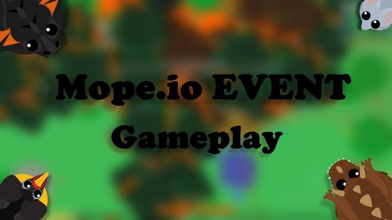 Mope.io EVENT Gameplay