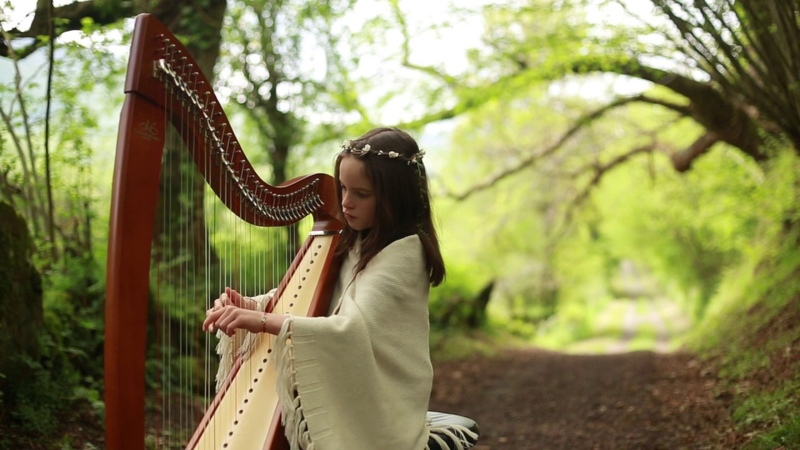 Tristan Hag Isold à la Harpe