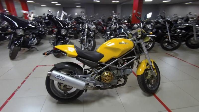 Мотоцикл DUCATI M900SIE MONSTER Арт 111027 Мотосалон Мегамото