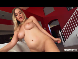 BigNaturals Blake Blossom Big Tits In Tight Button Up- Reality Kings Big Naturals Huge Tits Busty MILF