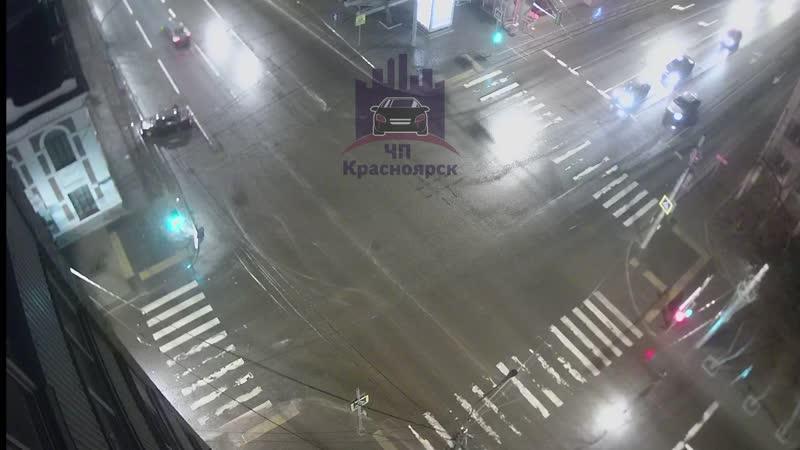 Ленина - Робеспьера 09.04.2020 ЧП Красноярск