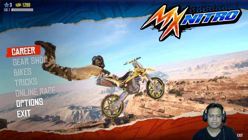 MX Nitro 1 Training Ground Balapan Motor Trail Seru Unleashed Gameplay