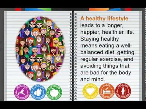 Аудирование Topic Healthy lifestyle