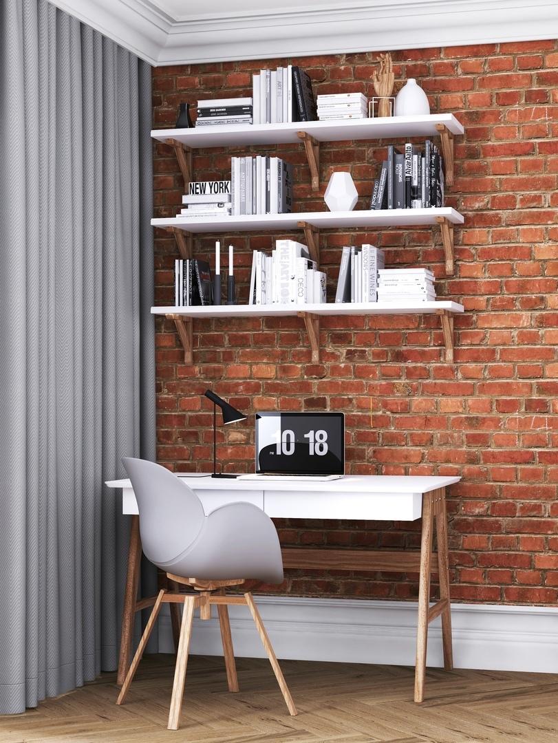 Дизайн интерьера 3-х комнатной квартиры (54 м²)