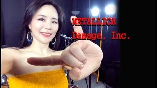 METALLICA -Damage, Inc drum cover by Ami Kim (#100)
