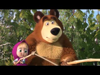 Маша и Медведь Сборник Летних Мультиков ( Все серии про Лето подряд )