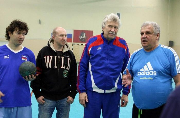 Николай Чигарев с командой