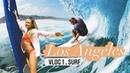VLOG ♡Лос Анджелес . Сёрфинг team . Chill Day |
