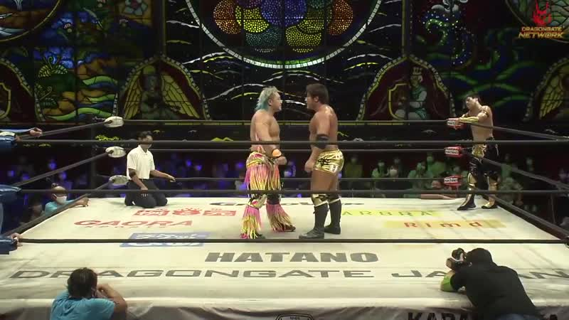 Dragon Kid Shuji Kondo vs Team Dragon Gate Ben K Jason Lee