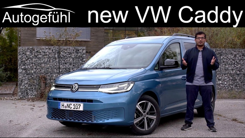 2021 Volkswagen Caddy SWB Тест драйв