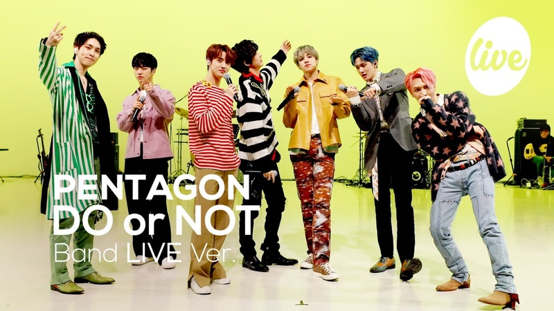 [24.03.2021] PENTAGON - DO or NOT(Band Ver.) @ its LIVE