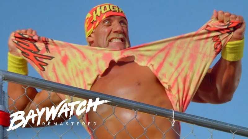 HULK HOGAN MACHO MAN RANDY SAVAGE VS NATURE BOY Ric Flair BIG VAN VADER Who Will Win Baywatch
