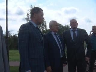 Председатель областного парламента Сергей Голубев посетил Ржев