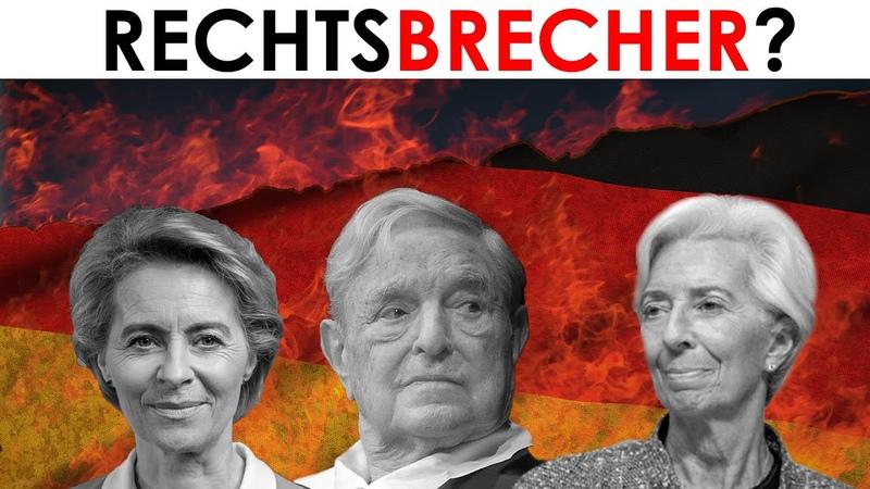 Explosive Studie Dokumente George Soros von der Leyen Lagarde EZB und EU gegen Deutschland