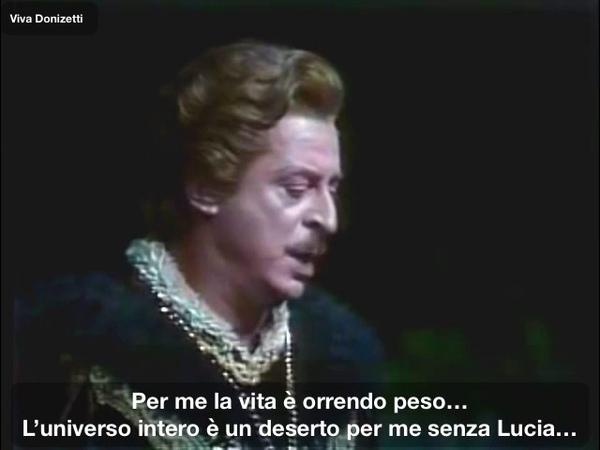 Alfredo Kraus - Tombe degli avi miei - Lucia di Lammermoor