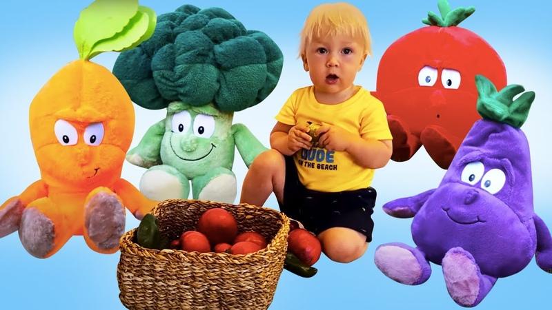 Nomi di frutta e verdura per bambini Impara l'italiano Video di apprendimento