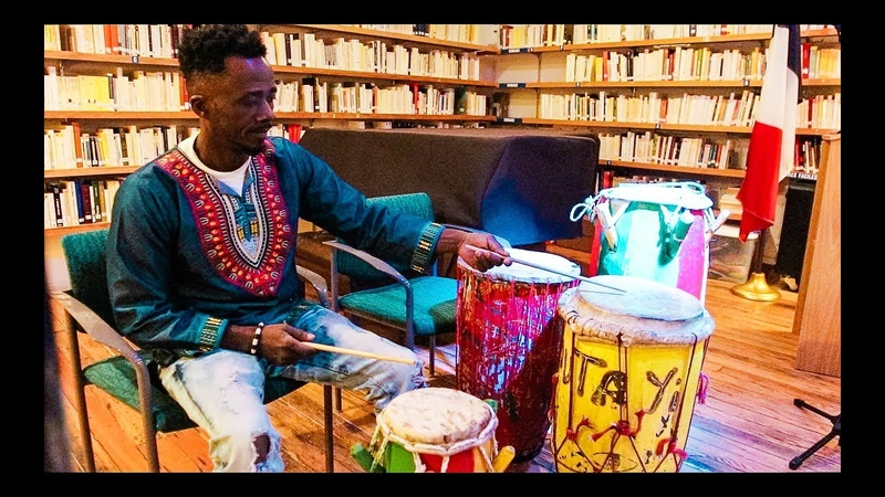 Haitian Drumming RARA French Alliance