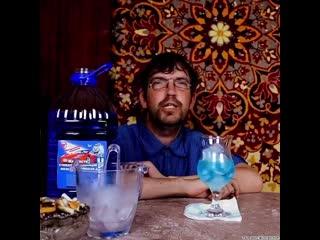 Сомелье раскрыл секрет коктейля Голубая лагуна