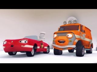 Олли Веселый грузовичок - Мультик про машинки - Новый имидж Сьюзи - Серия 53 (Full HD)