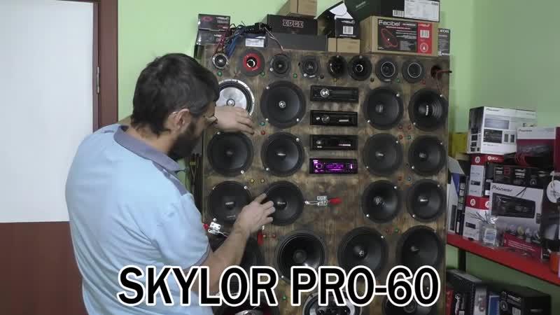 SKYLOR PRO-60 сравнение с MOMO HE-610PRO, Avatar MBR-60L, ZEUS MR-6.1, R2V Optim