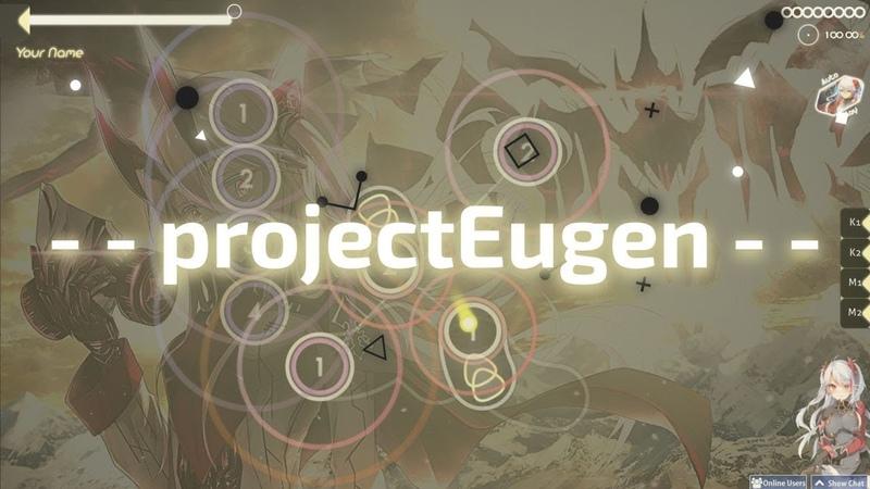 Osu! skin review - - projectEugen - - (by kelinimo)