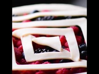6 крутых украшений для пирога!
