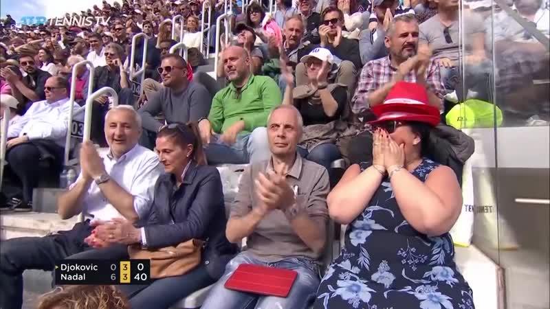 Джокович Н. 12 Надаль Р. Теннис. Мировой тур ATP Обзор матча (19 мая 2019 в 1705)