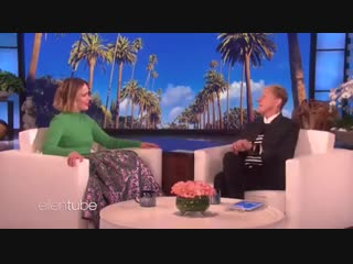 Moments of Sarah Paulson scared by Ellen