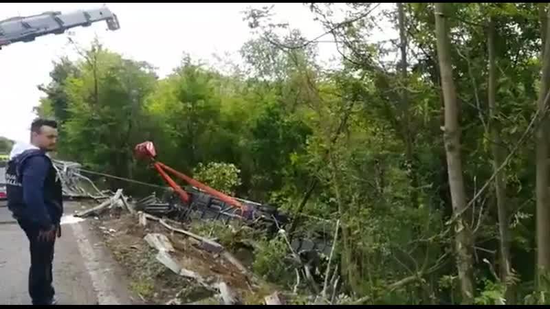 Автобус с туристами из России разбился в Сиене