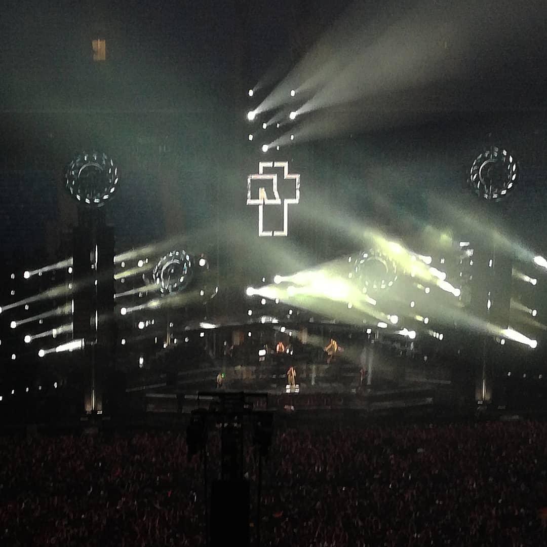 Rammstein в Петербурге! Фото и видео