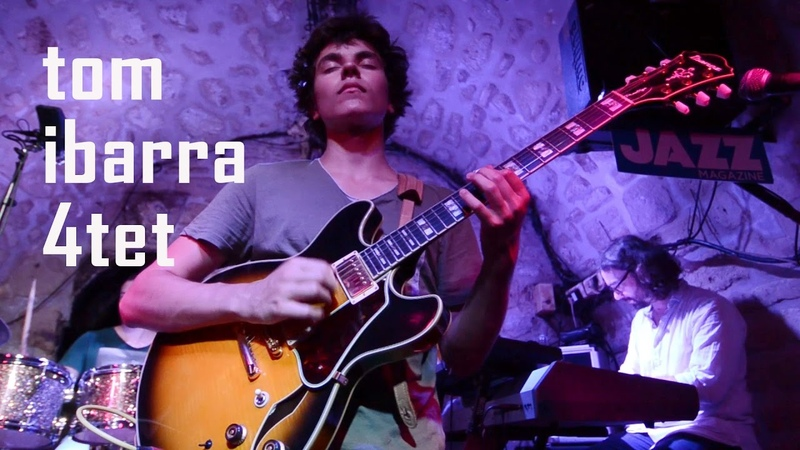 Cause we've ended as lovers Jeff Beck by Tom Ibarra quartet live @ Caveau des Oubliettes