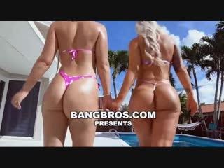 Brandi Bae, Rharri Rhound - Huge Ass 3somes Make Me Squirt l Брэнди Бэ, Рарри Роунд-огромные задницы  сделать мне сквирт