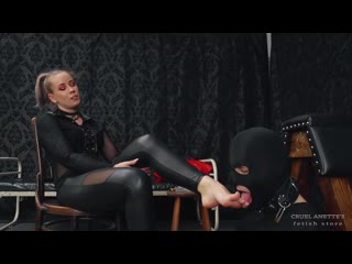 Lady Anette - Foot Worship On A Leash [Foot Fetish Humiliation Feet Slave Worship Domination Licking Slave Training]