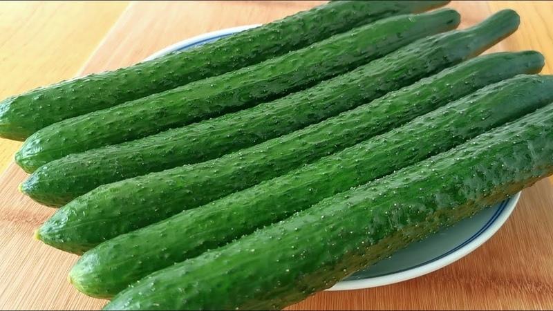 黃瓜別涼拌了,教你新吃法,一次做6根,比吃肉還過癮,太香了! 【小313