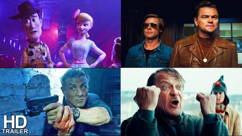 Четыре реакции на История игрушек 4, Однажды... в Голливуде, План побега 3, Красный призрак