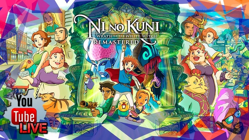 Ni no Kuni Wrath of the White Witch Remastered◄╝ 3 ➯ Первый Куни от Ку! Огонь игра
