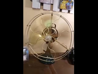The Elegance Of This Antique Fan. It's 101 Years Old, And Has Been Restored