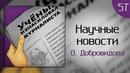 Научные новости О Добровидова