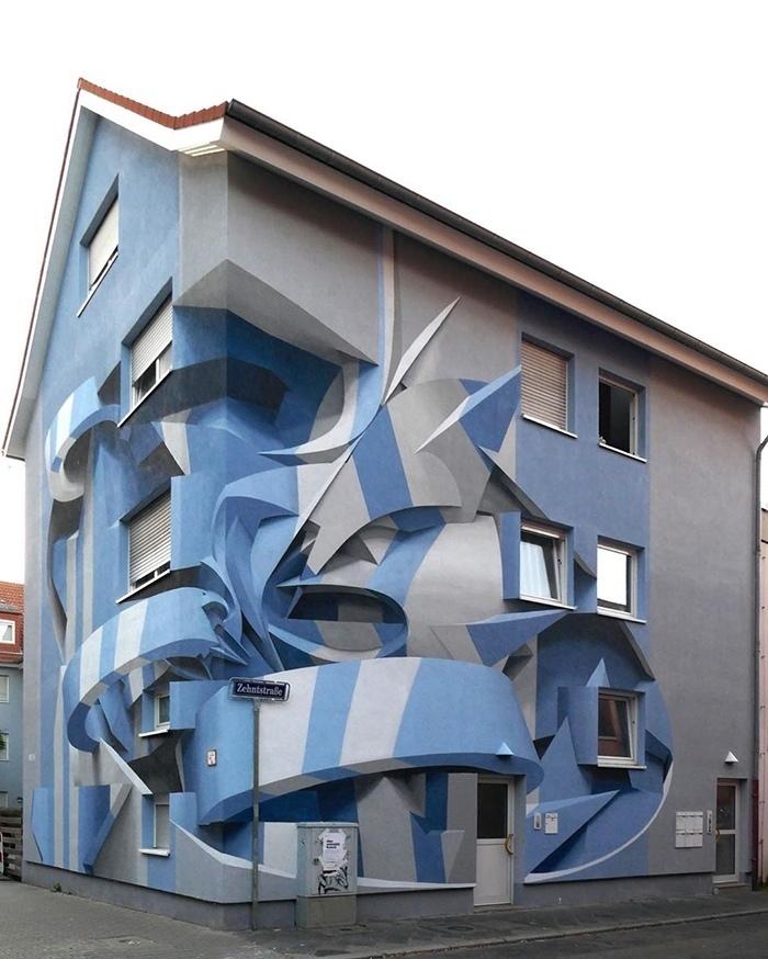 Потрясающий стрит-арт итальянского творца Peeta