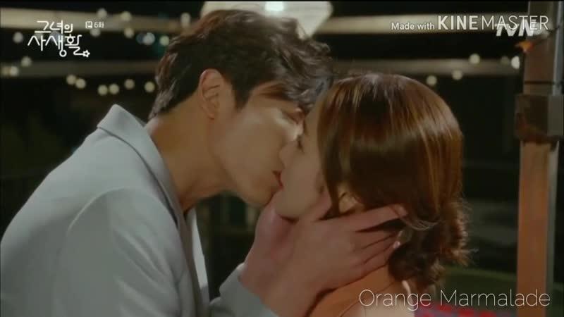 Отрывок из дорамы Её личная жизнь Поцелуй 06 серия Озвучка SOFTBOX