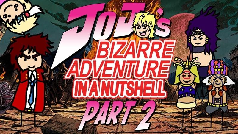 JoJo's Bizarre Adventure Part 2: Battle Tendency In A Nutshell