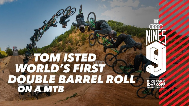 World's First Double Barrel Roll With Tom Isted At Audi Nines 2019