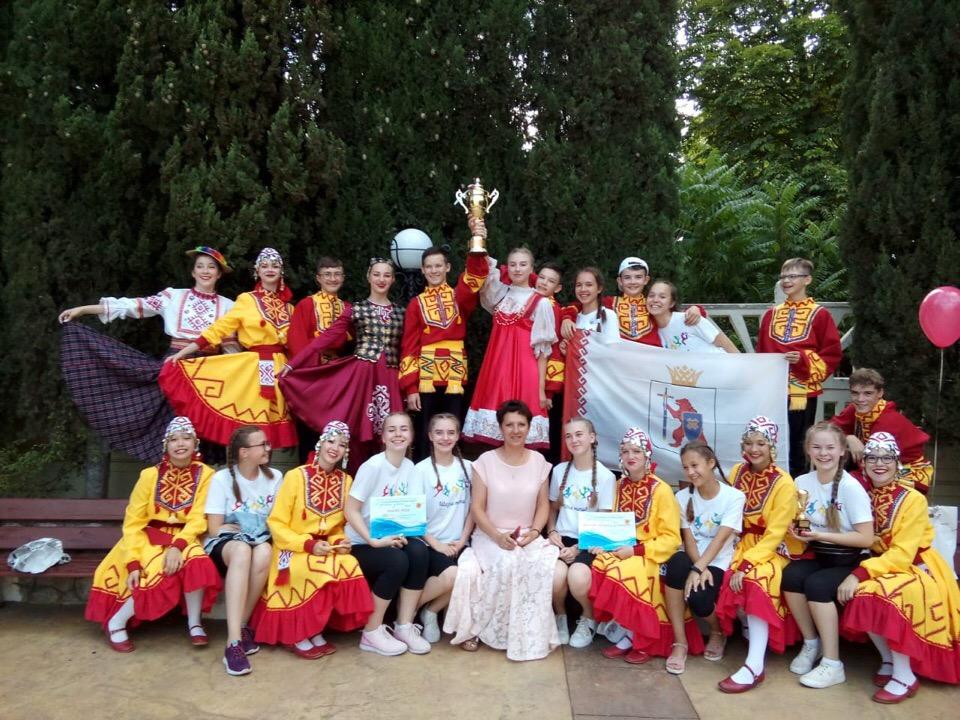 Школа танца из Волжска стала обладателем Гран-при престижного фестиваля