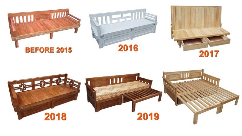 Tổng Hợp Quá Trình Cải Tiến Giường Kết Hợp Ghế - Summary Process Improvement Of Chair Combined Bed