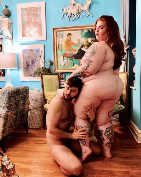 Тесс Холлидей призналась, что ее вес не влияет никак на близость с мужем!