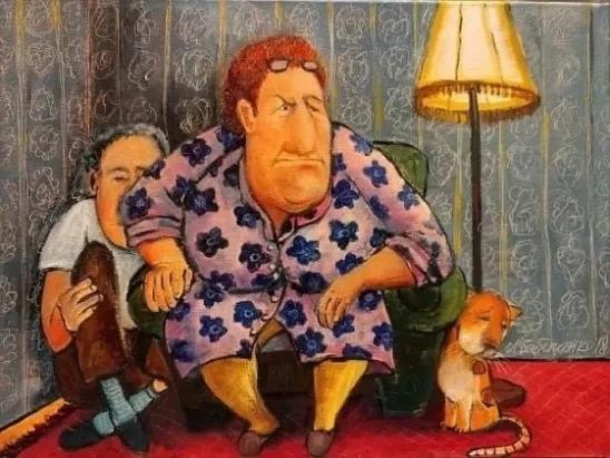 ЧАЙ С ВАРЕНЬЕМ Фельдман сидел на кухне и пил чай с малиновым вареньем. По телевизору шло шоу «Давай поженимся», где три дебелые тетки возраста дожития делили бодрого старичка со слуховым
