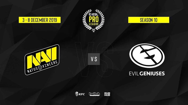 Natus Vincere vs EG ESL Pro League S10 Finals map3 de nuke Gromjkeee TheCraggy
