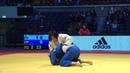 柔道 寝技 松本薫ハイジンハロールで抑え込む Judo Huizinga roll