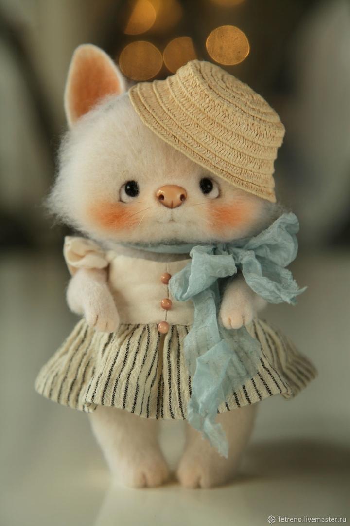 Авторские игрушки Кристины Шаблиной.
